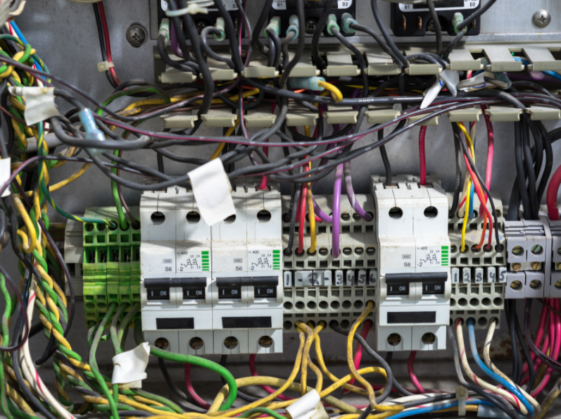 issues in electrical service panel