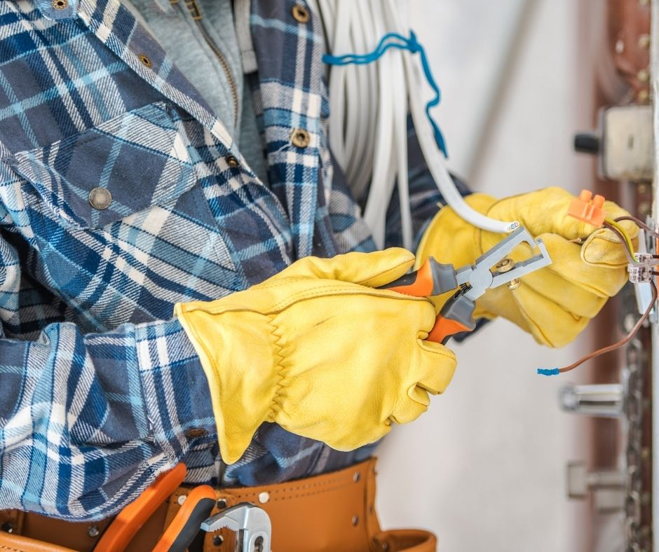 Hire professional electricians when renovating your home