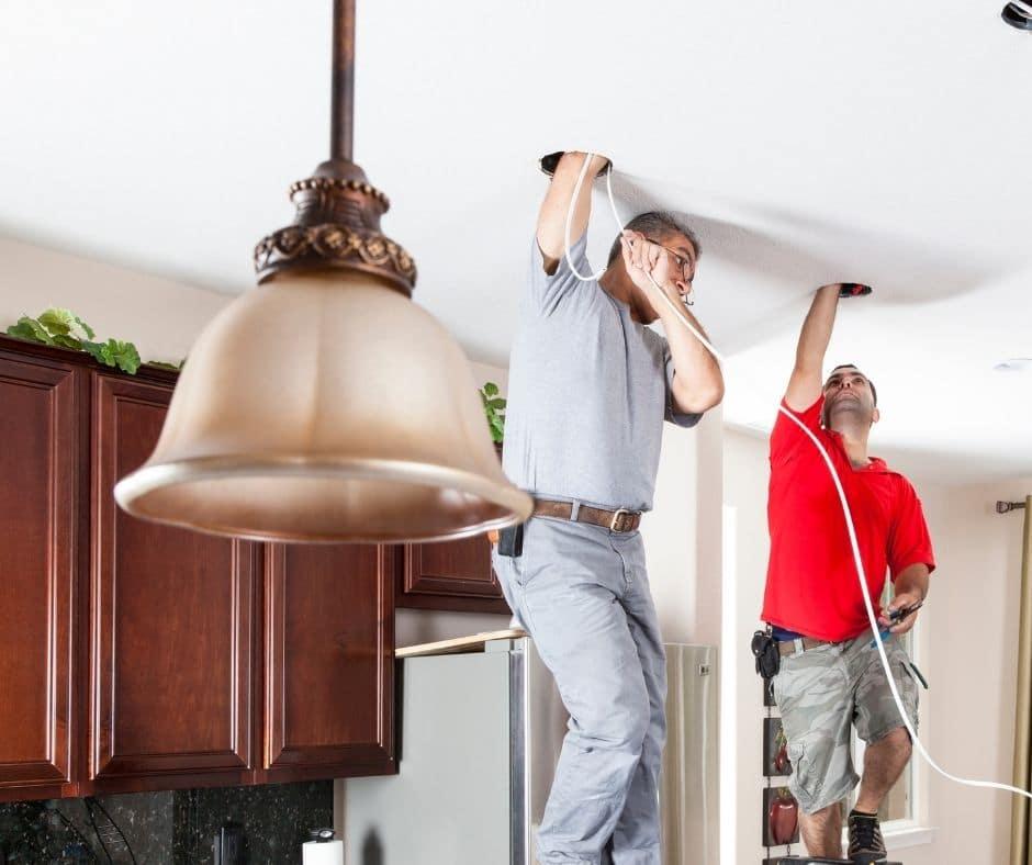 Light Fixture Installatio in Edmonton
